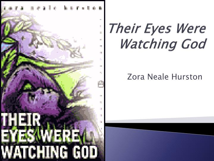 a plot summary of hurstons novel their eyes were watching god