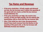 tax rates and revenue5