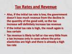 tax rates and revenue6