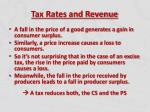 tax rates and revenue7