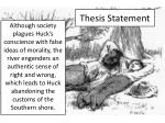 thesis statement1
