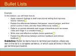 bullet lists4