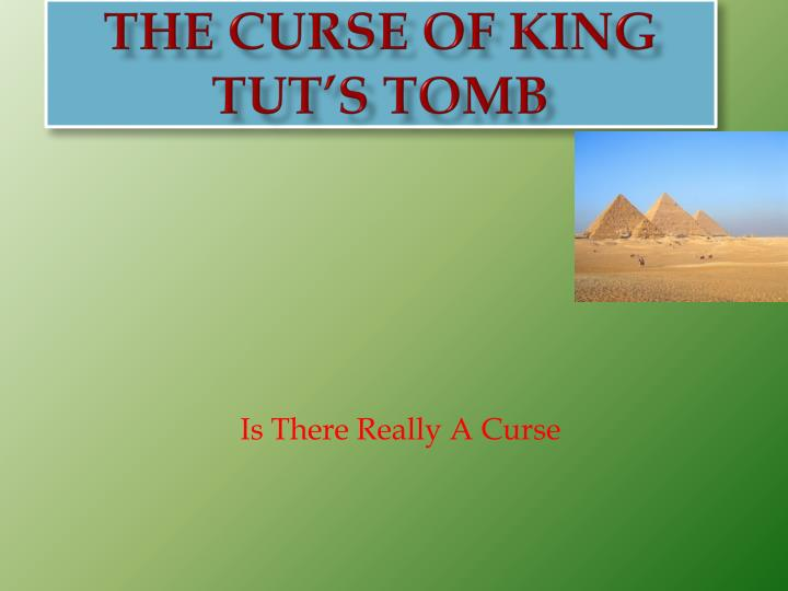 the curse of king tut s tomb n.