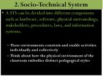 2 socio technical system