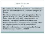 more attitudes