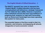 the english model of gifted education 1