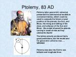 ptolemy 83 ad