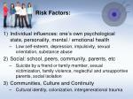 risk factors1