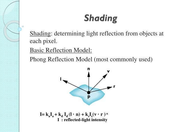 PPT - Shading PowerPoint Presentation, free download - ID