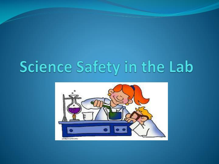 science safety in the lab n.