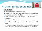using safety equipment1