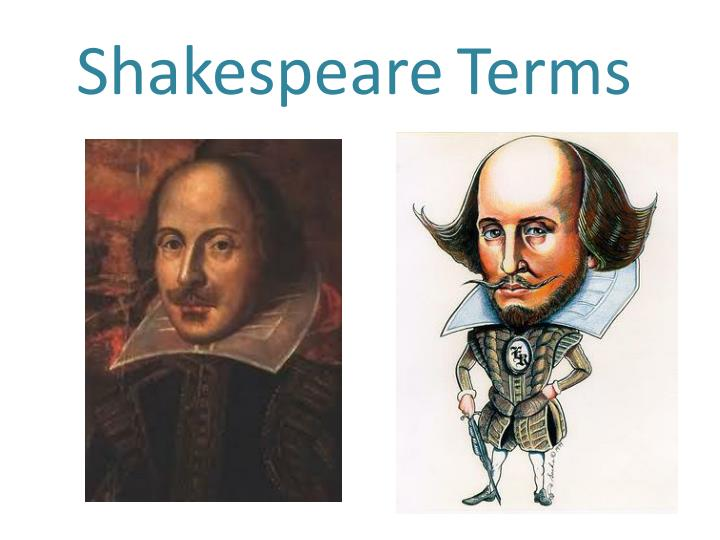 shakespeare terms n.