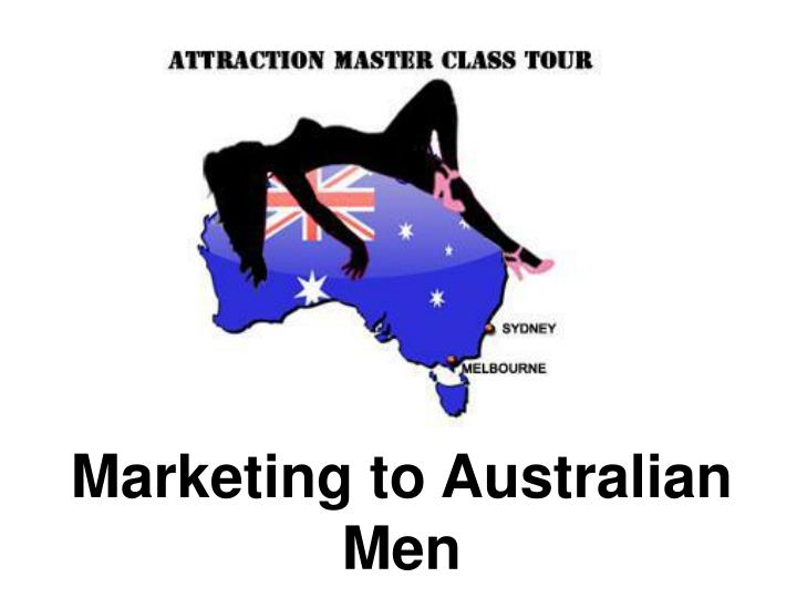 marketing to australian men n.