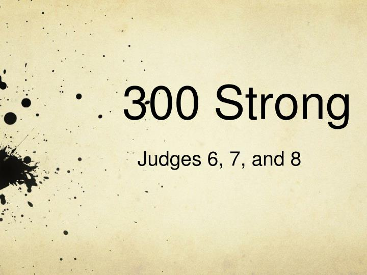 300 strong n.