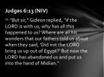 judges 6 13 niv