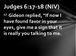 judges 6 17 18 niv