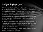 judges 6 36 40 niv