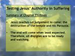 testing jesus authority in suffering1