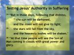testing jesus authority in suffering103