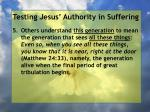 testing jesus authority in suffering152