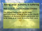 testing jesus authority in suffering160