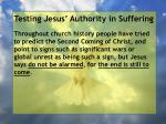 testing jesus authority in suffering33