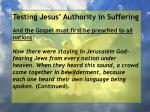testing jesus authority in suffering52