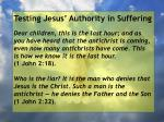 testing jesus authority in suffering73