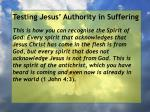 testing jesus authority in suffering74