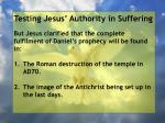 testing jesus authority in suffering79