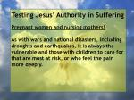 testing jesus authority in suffering85