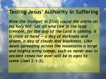 testing jesus authority in suffering89