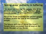 testing jesus authority in suffering9