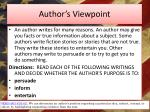 author s viewpoint1