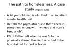 the path to homelessness a case study helgeson 2011