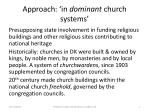 approach in dominant church systems