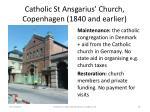 catholic st ansgarius church copenhagen 1840 and earlier