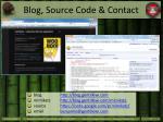 blog source code contact