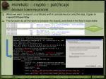 mimikatz crypto patchcapi because i own my process