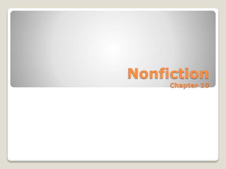 nonfiction chapter 10 n.