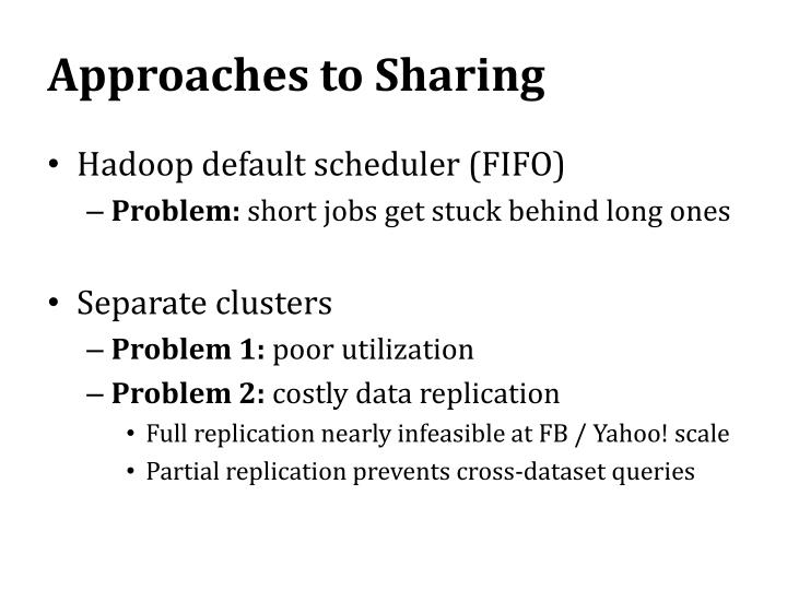 Approaches to Sharing