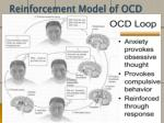reinforcement model of ocd