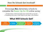 how do schools get involved