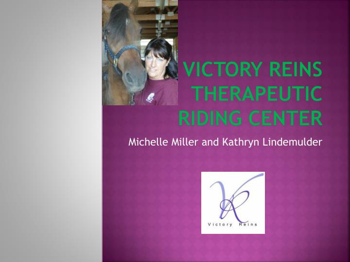 victory reins therapeutic riding center n.