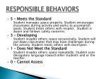 responsible behaviors1
