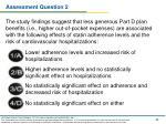 assessment question 2