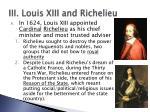 iii louis xiii and richelieu