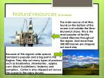 natural resources oil farmland
