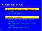 quelles transactions1
