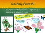 teaching point 7